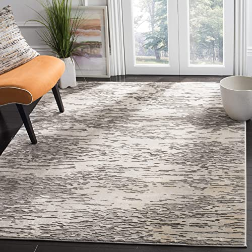Safavieh Meadow Collection MDW176F Modern Abstract Area Rug