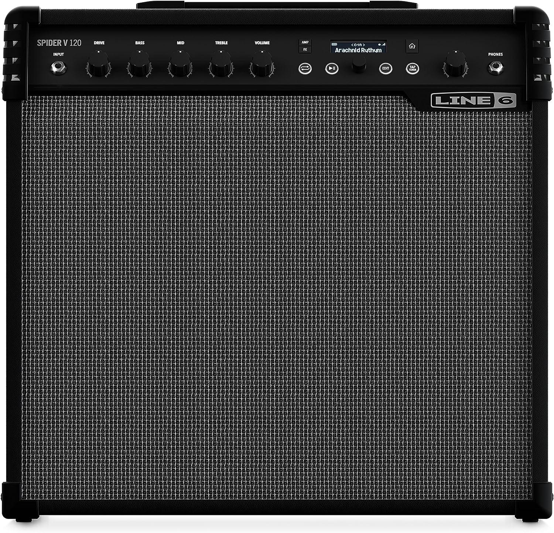 Line 6 Spider V 120 · Amplificador de Guitarra Eléctrica: Amazon.es: Instrumentos musicales
