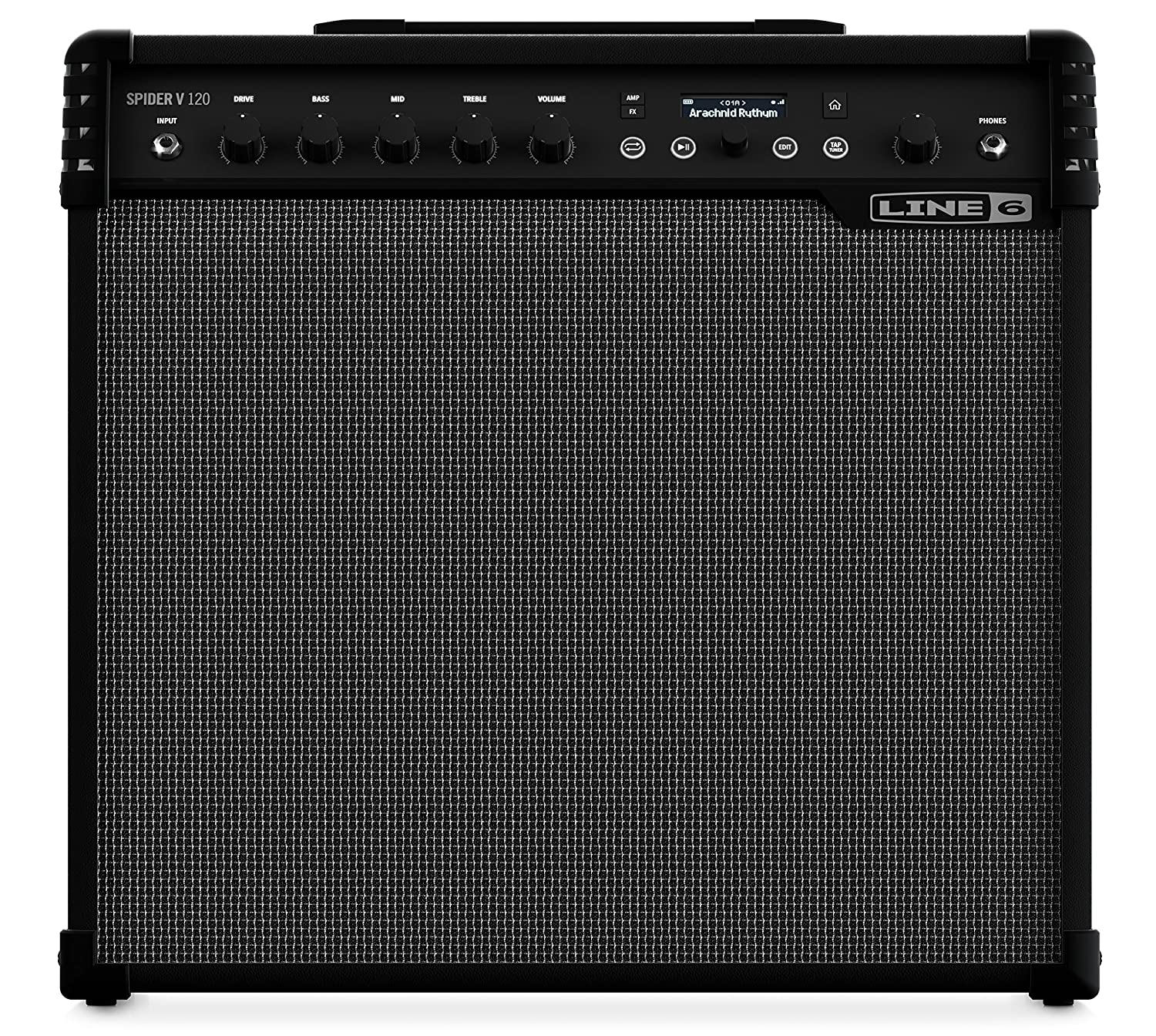 Amazon.com: Line 6 Spider V 120 Wireless Ready Modeling Amplifier: Line 6:  Musical Instruments
