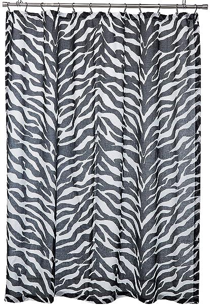 Kimlor Mills Karin Maki Zebra Shower Curtain Black