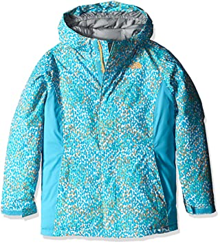 c6e344b91f73 THE NORTH FACE Delea Insulated Jacket Girls Fortuna Blue Scatter ...