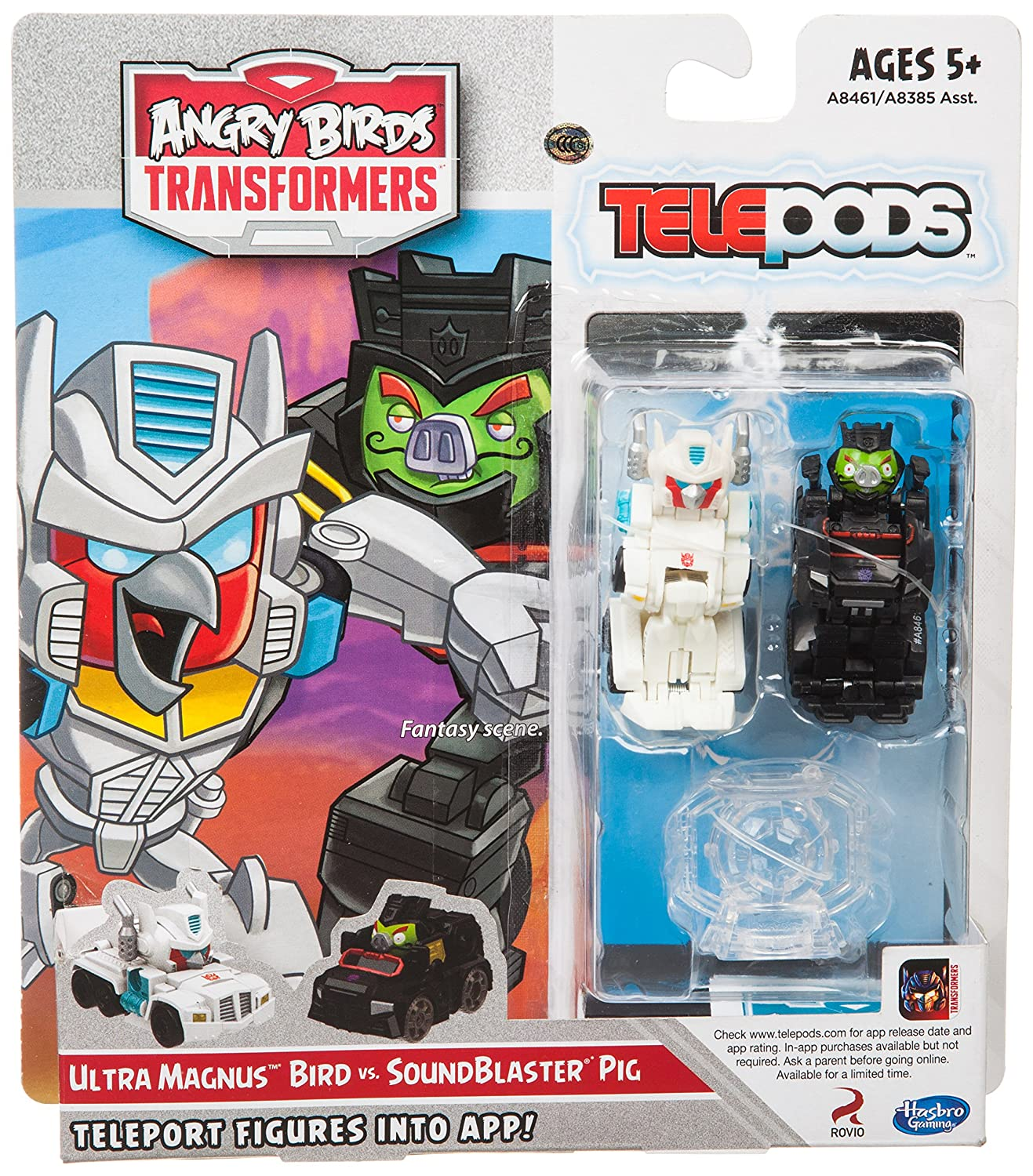 Angry Birds Transformers Telepods Ultra Magnus Bird vs. SoundBlaster Figure Pack Hasbro