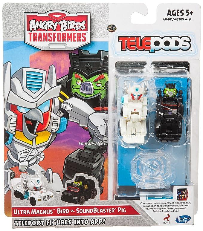 2 opinioni per Angry Birds Transformers Ultra Magnus Bird Vs. Soundblaster Pig Battlepack