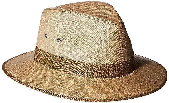 6bfccaf6cda Tommy Bahama Men s Linen Safari Hat
