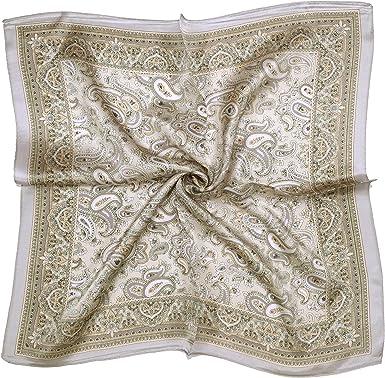 Light Brown Silk Scarf