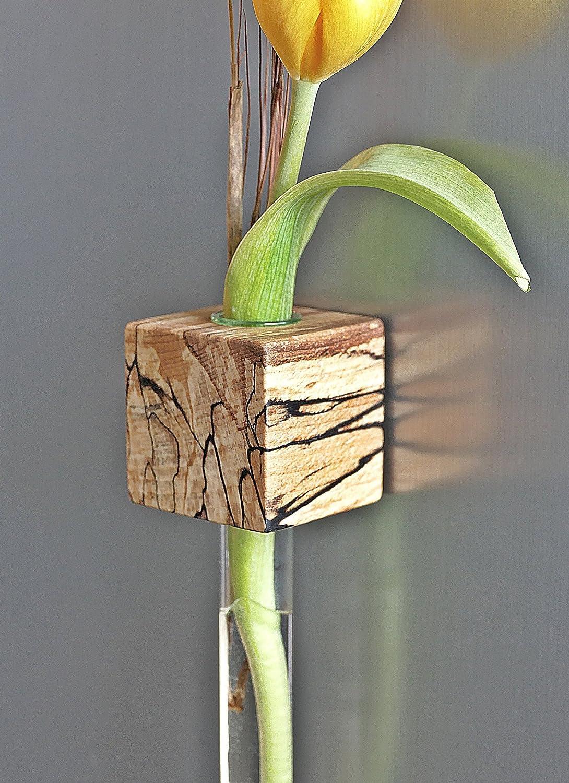 Magnetvase Buche gestockt Magnethalter Blumenvase *