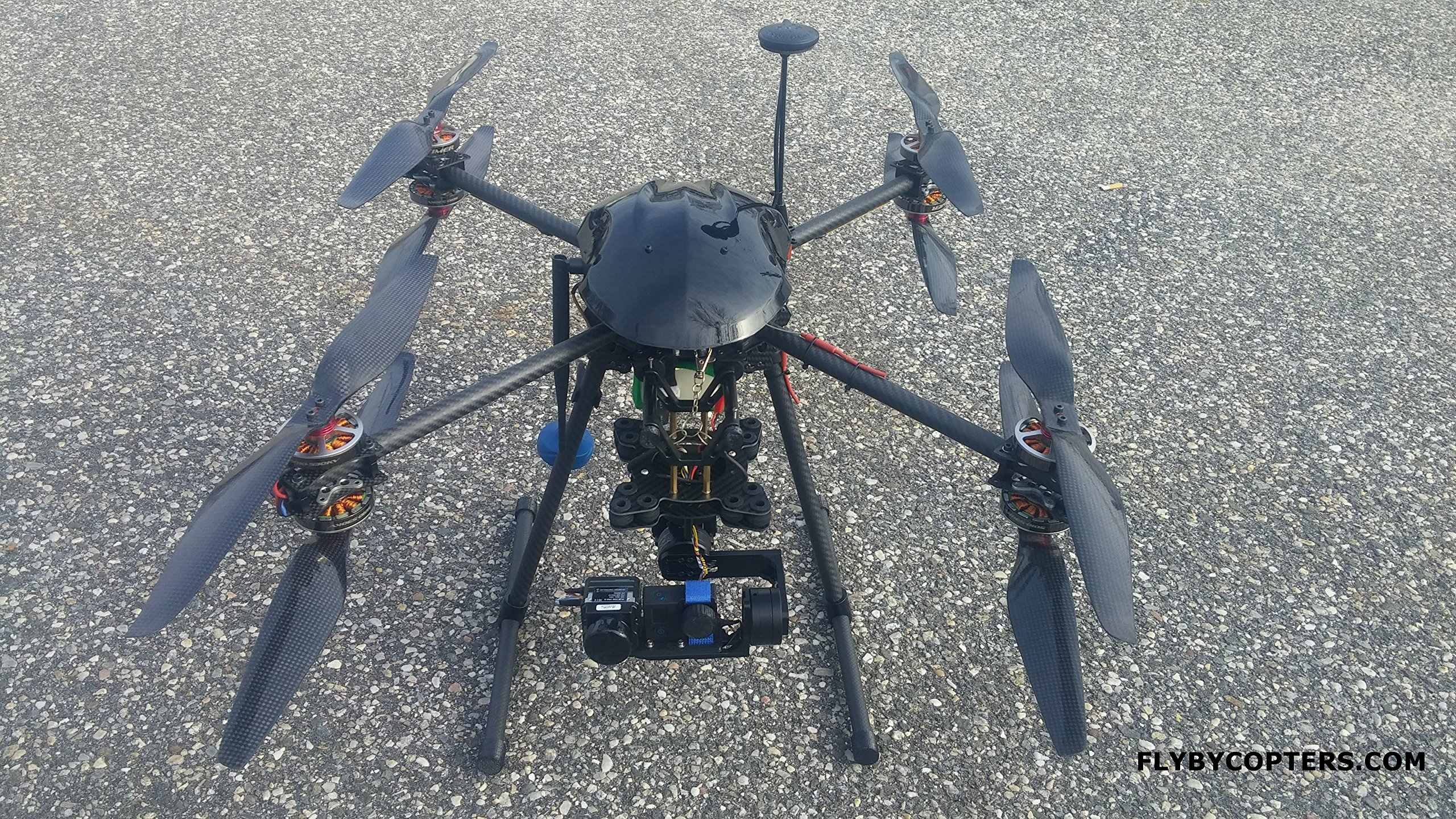 FlyByCopters Thermal Imaging X8 640 4K Quadcopter Drone With AutoPilot 3