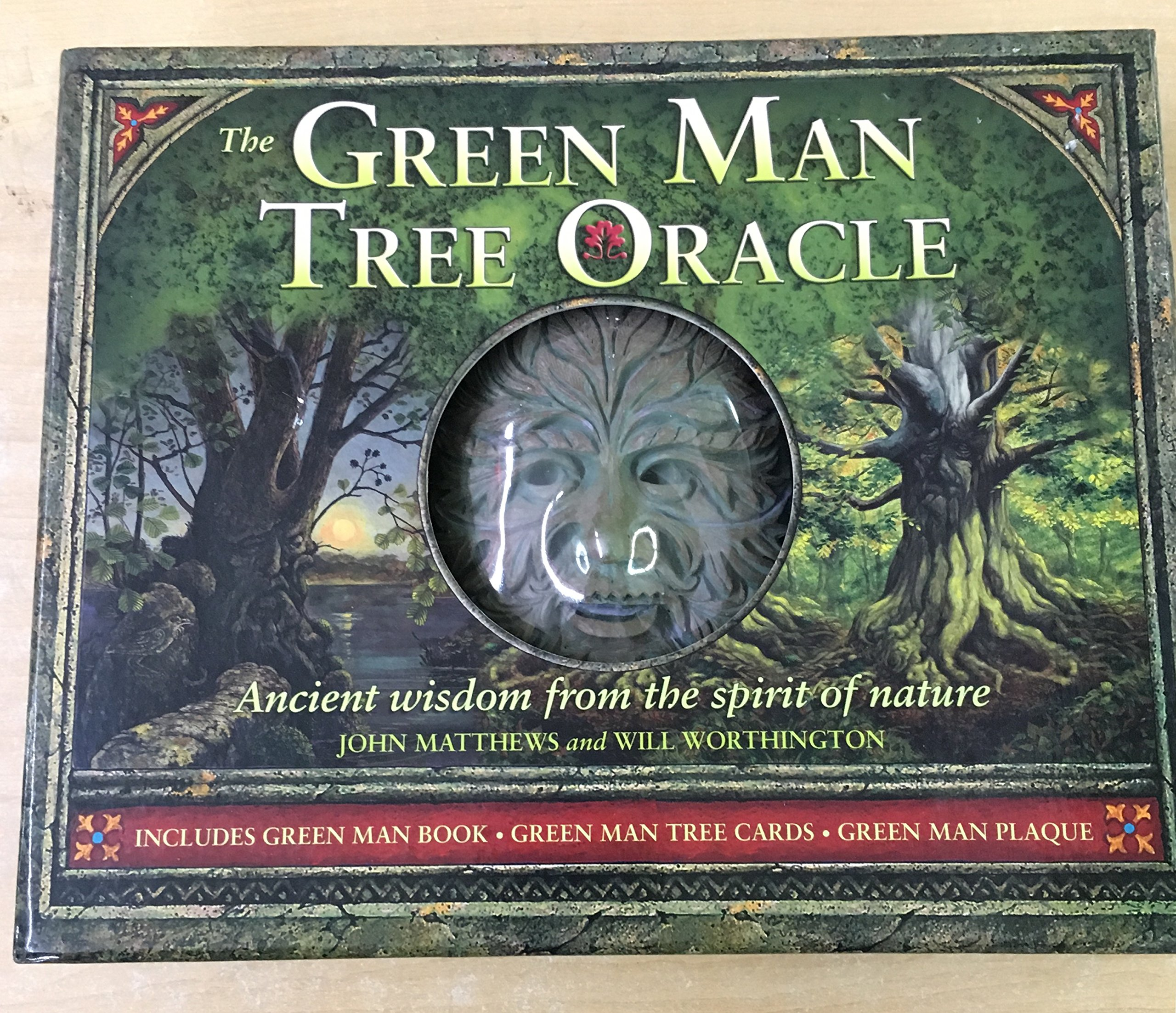 The Green Man Tree Oracle : Ancient Wisdom From the Spirit of Nature (book, cards & plaque) ebook