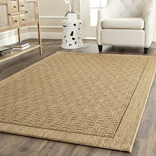 Safavieh Palm Beach Collection PAB359A Natural Sisal Jute Area Rug 9' x 12'