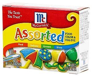 Yuki MC food color box 29 ml ~ 4