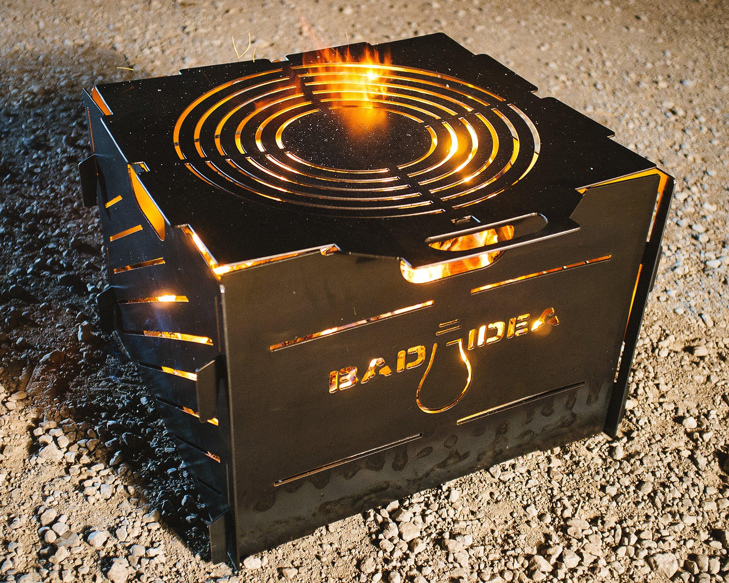 Blaze Burn Cage Portable Fire Pit Camp Stove