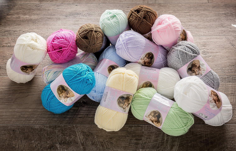 10Pk Mary Maxim 444-12 Baby/'s Best Yarn-Sandbox