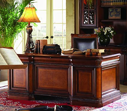 Superbe Vineyard Italian Style Executive Desk Home Office Computer Furniture