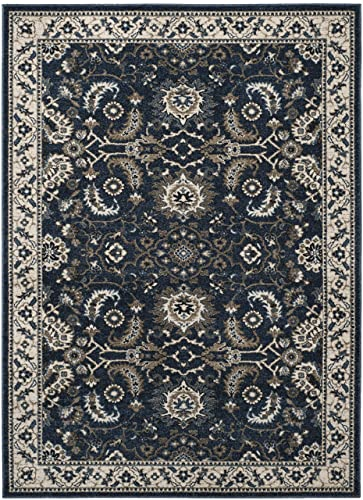 Safavieh CRL477D-3 Rug, 3 x 5 , Dark Blue