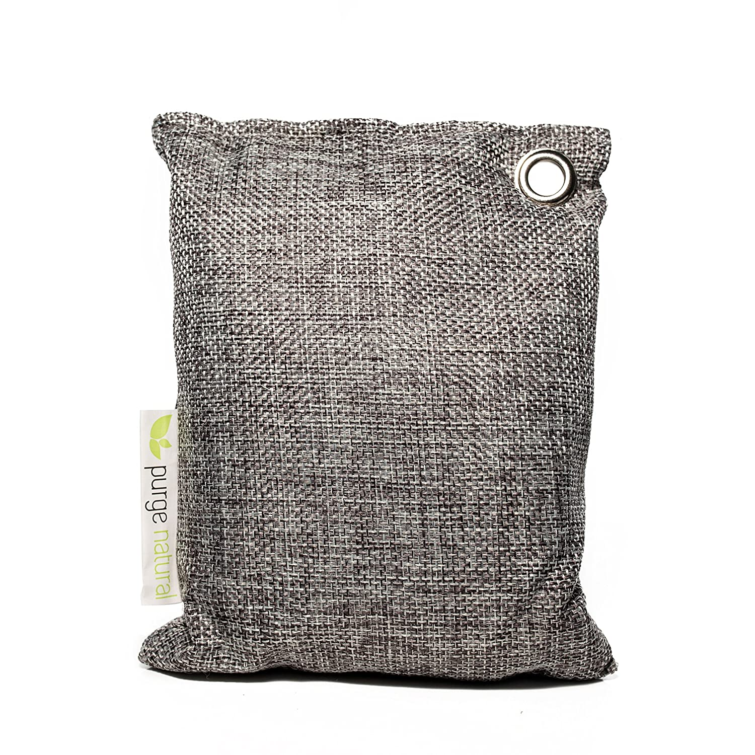 Purge Bag - Activated Carbon Air Purifier and Deodorizer. All Natural and Chemical Free Bags Automatically Absorb, Deodorize and Neutralize Odors and Moisture. Perfect For Rooms, Cars, Refrigerators Purge Natural