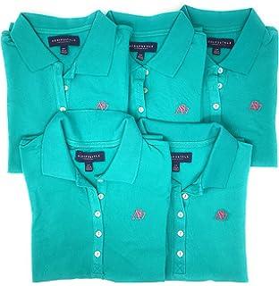 310d963c Aeropostale Women's Polo Shirt Set of 3 at Amazon Women's Clothing ...