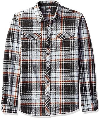 cdbf28a3 Amazon.com: O'Neill Men's Glacier Plaid Flannel: Clothing