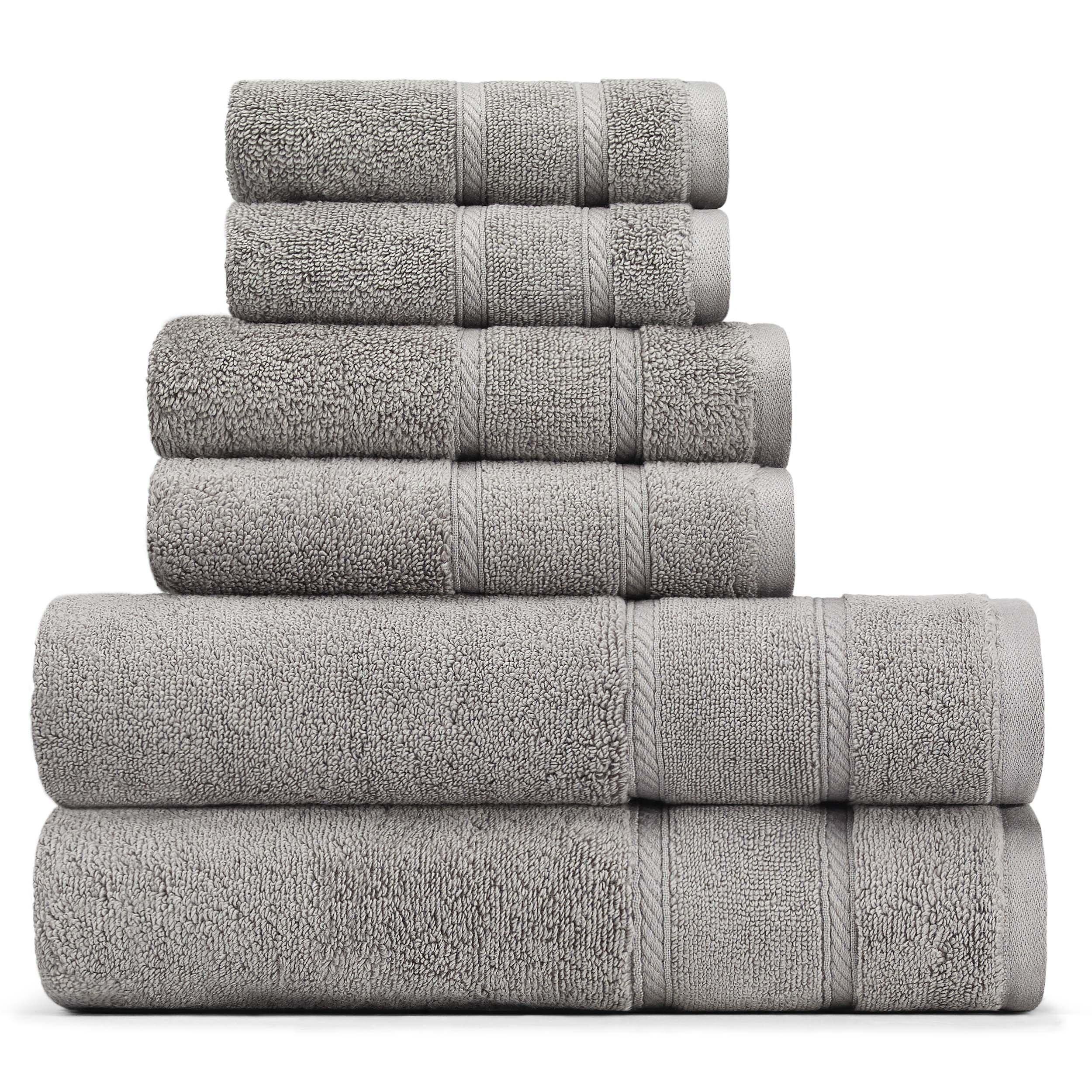 Nautica Belle Haven 6-Piece Towel Set, 6Piece, Grey