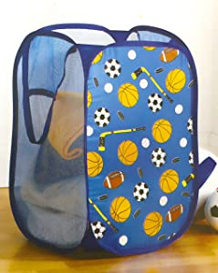 Heritage Kids Varsity Sports Pop Up Hamper Toy