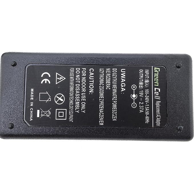 Green Cell Cargador para Toshiba Satellite C50D-B C670D C75D C870D ...