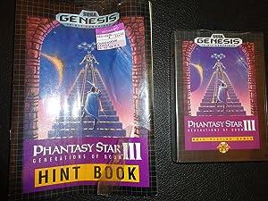 Phantasy Star III - Sega Genesis