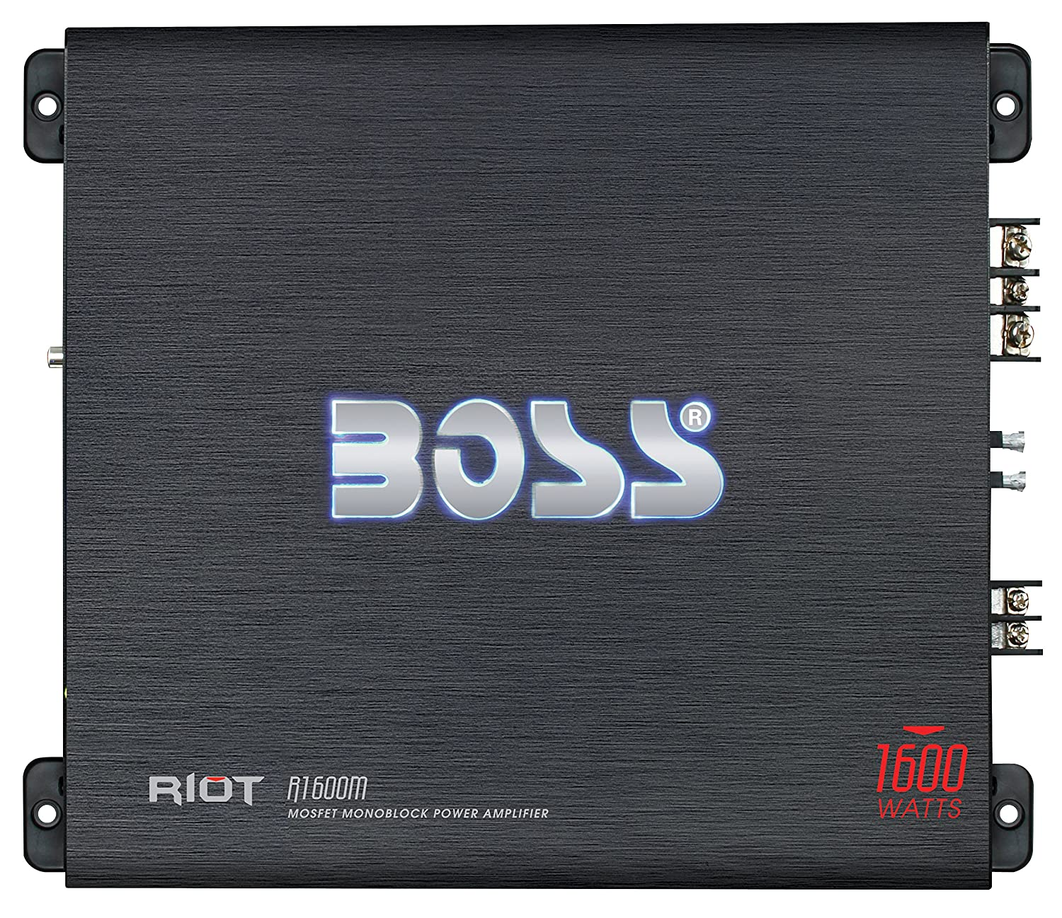 Boss Audio Systems R1600M - Amplificador de audio (1.0 canales, 1600 W, A/B, 0,01%, 102 dB, 1600 W): Amazon.es: Electrónica