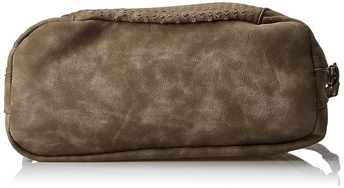 Rieker Damen H1422 Schultertasche, 30x29x5,5 cm: