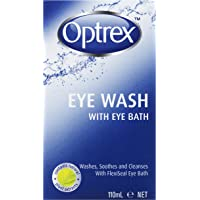 Optrex Fresh Eyes Liquid Eye Wash Bath, 110ml