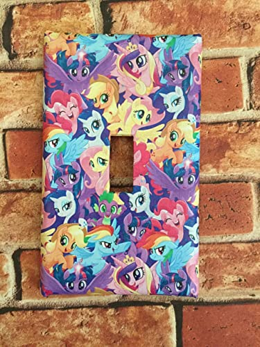 Amazoncom My Little Pony Mlp Light Switch Plate Cover Home Decor