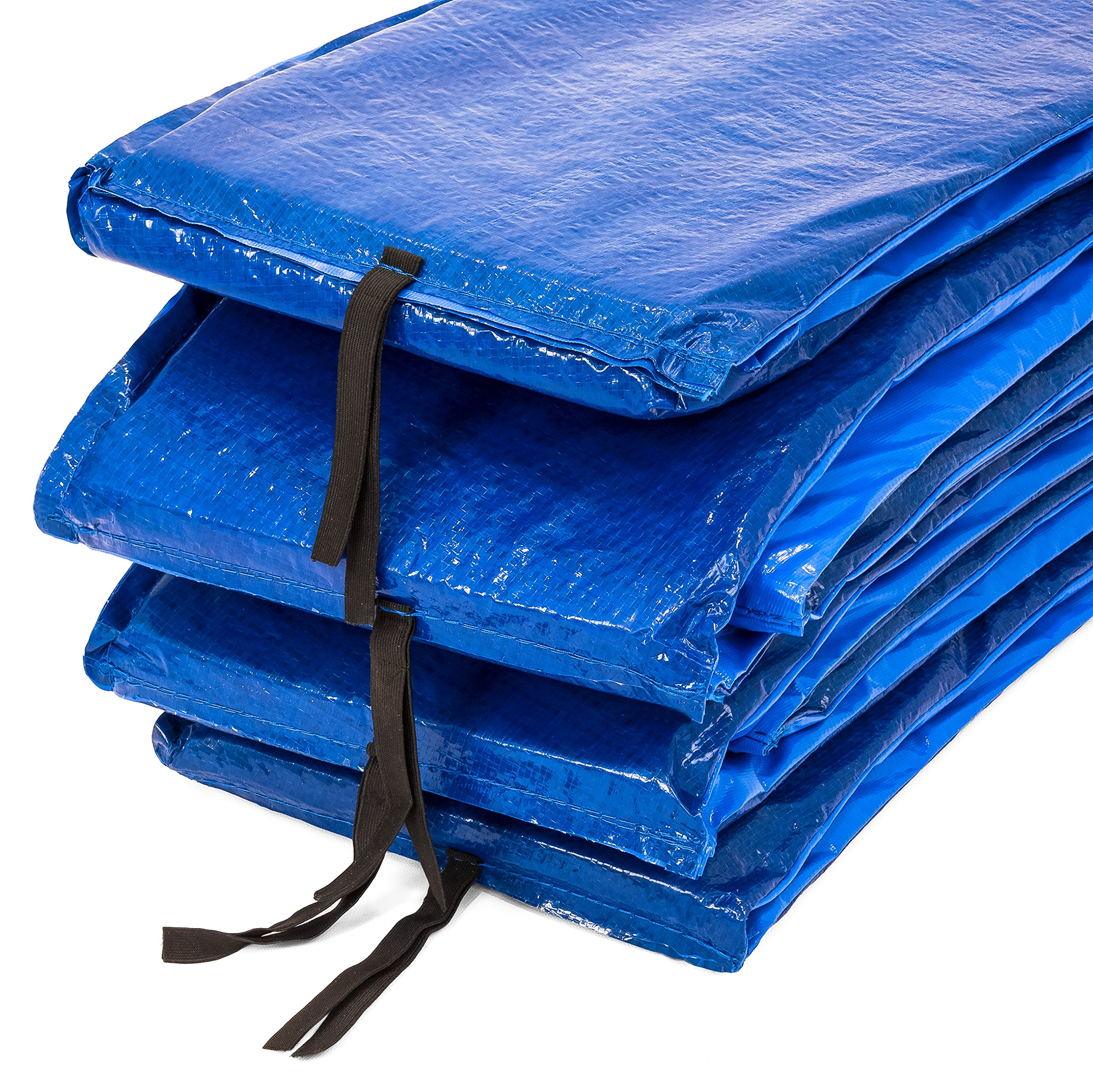 Best Choice Products 12ft Trampoline Safety Pad Spring Cover w/ 21mm Thick Foam Padding - Blue by Best Choice Products (Image #4)