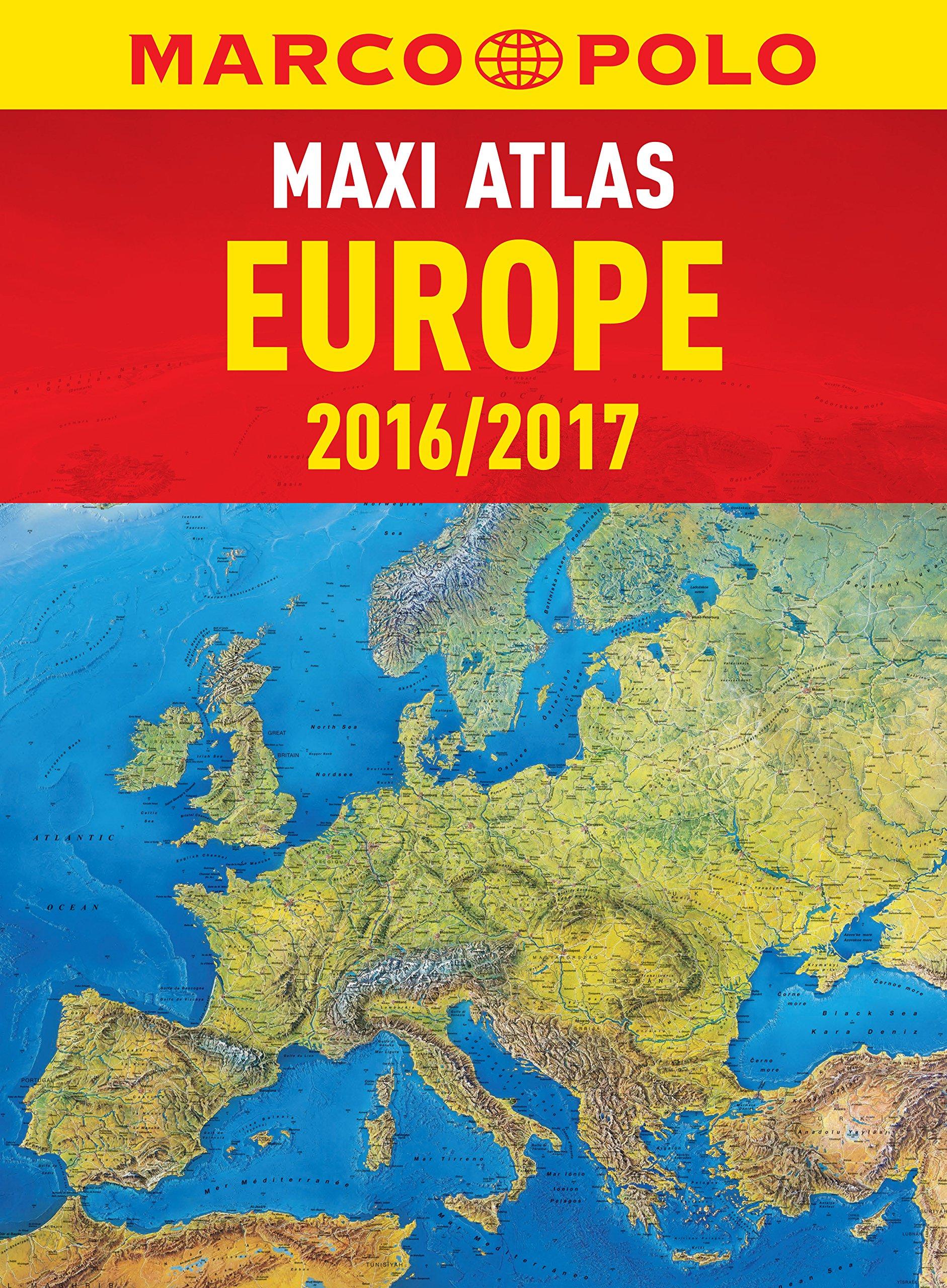 Europe Marco Polo Maxi Atlas Marco Polo Road Atlas Marco Polo