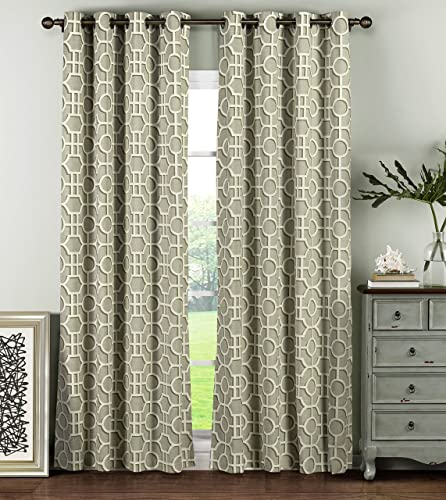Reviewed: Window Elements Lenox 100 Cotton Grommet Extra Wide 104″ x 96″ Curtain Panel Pair