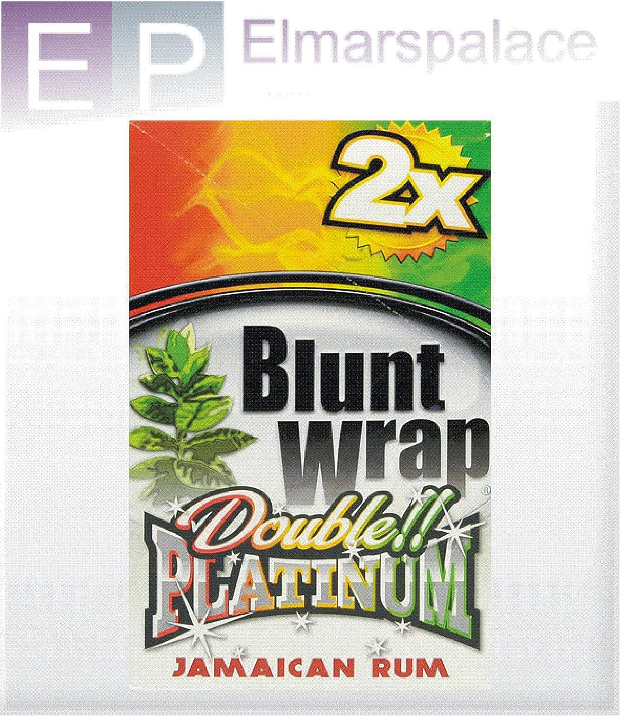 Blunt Wraps Double Platinum Diseño de Ron jamaicano Double ...