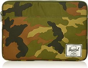 Herschel Anchor Sleeve for MacBook/iPad, Woodland Camo/Woodland Camo, 15-Inch