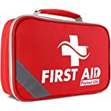 2-in-1 First Aid Kit for Car - 250 Piece - First Aid Kits for Businesses   Home First Aid Kit, Bonus Mini 1st Aid Kit, Emerge
