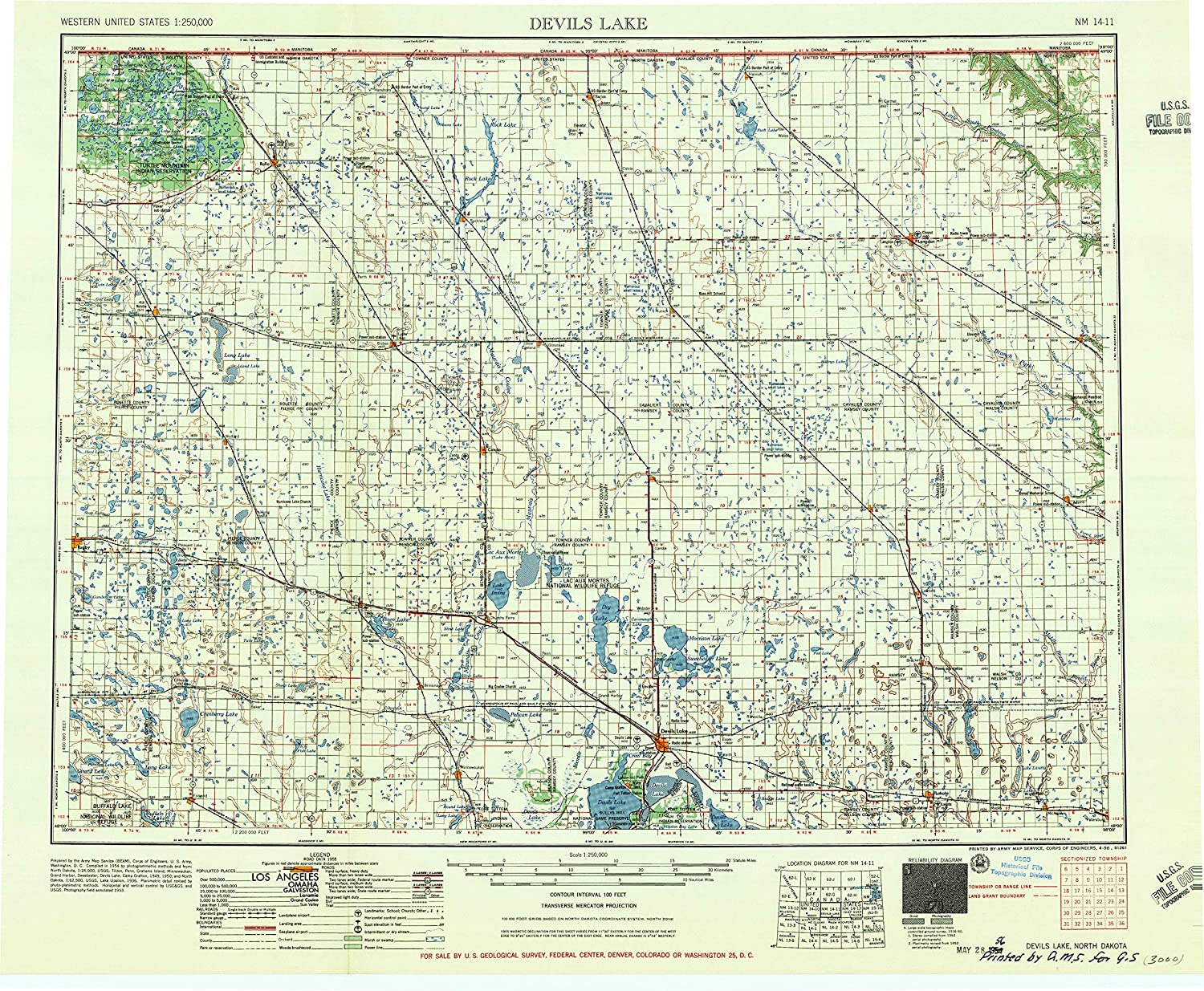 Amazon.com : YellowMaps Devils Lake ND topo map, 1:250000 ... on time zone map, ae map, ca map, nh map, ne map, efis map, nv map, sd map, ks map, al map, ohio map, mn map, ri map, w.va map, co map, wy map, md map, eastern oh map, mo map, wa map,