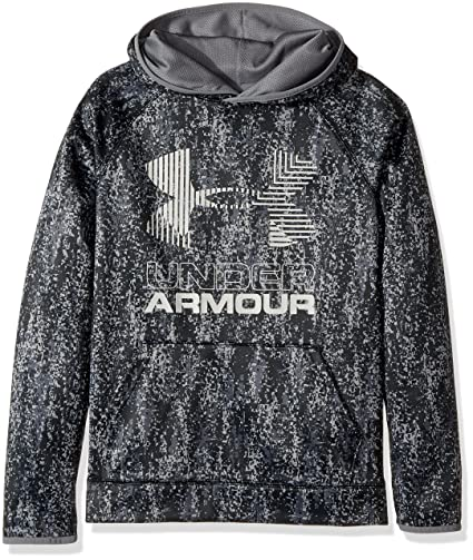 f15069d1c5f28 Amazon.com  Under Armour Boys  Armour Fleece Printed Big Logo Hoodie ...
