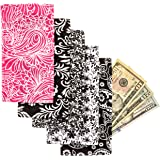 Magnetic Cash Budgeting Envelopes, Set of 5, Divide. Spend Save. Budget Your Way to Savings