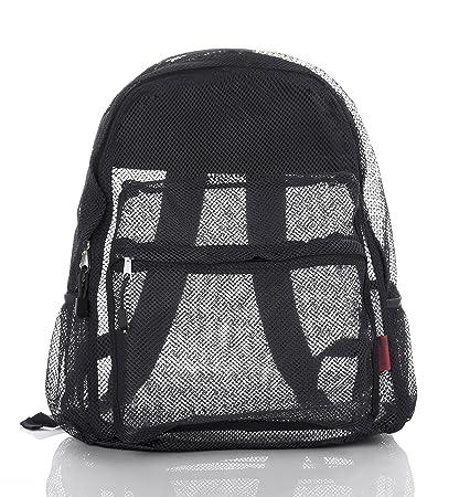 cf123e1f6a Mesh Backpack For Kids Men & Women By Bravo - Large School & Travel Bag -