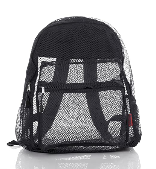 f21acbfe2da4 Mesh Backpack For Kids Men   Women By Bravo - Large School   Travel Bag -