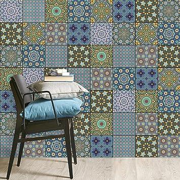 Fliesen Mosaik Klebe Folie | Aufkleber Zum Fliesen überkleben | Deko Sticker