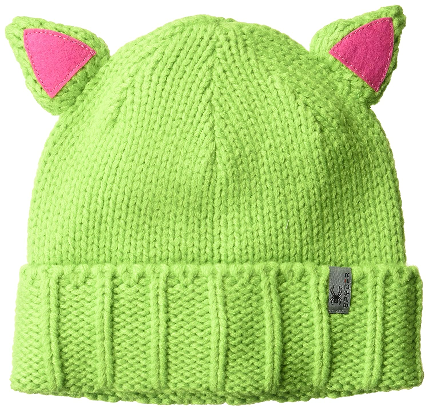 Spyder Active Sports Girl's Bitsy Feral Hat, Fresh/Raspberry, One Size 726602