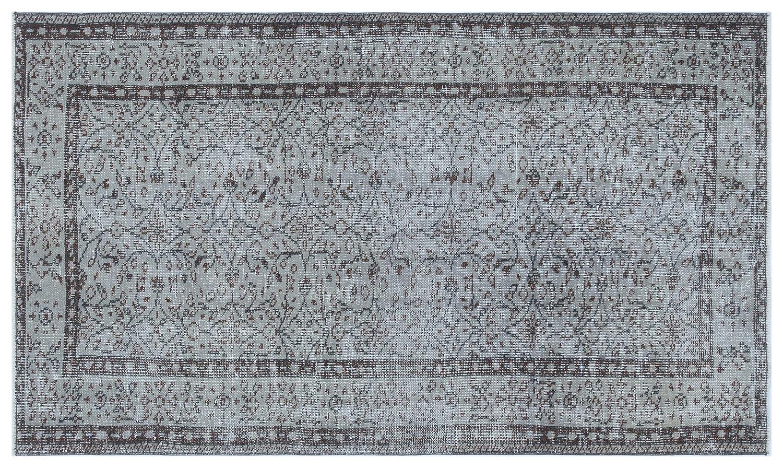 Bespoky ビンテージ 手織 ラグ 青 小さいサイズ 108 X 185 Cm   B07HKY5R6K