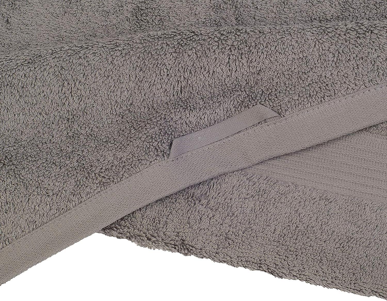 G/özze Tessuto Ecologico 100 Standard Tinta Unita 70 x 140 cm Antracite Telo da Doccia 70 x 140 cm 100/% Cotone di Alta qualit/à