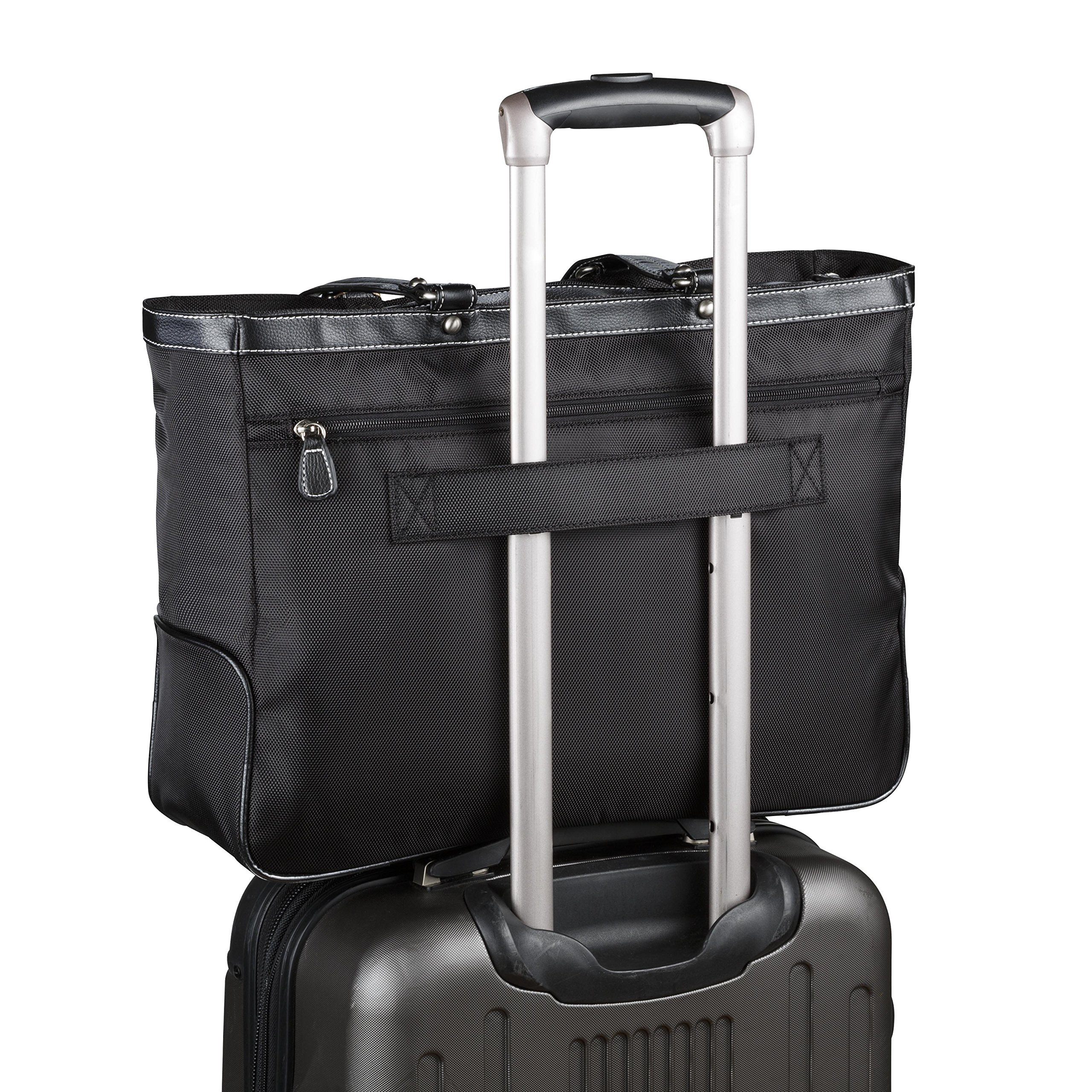 Clark & Mayfield Marquam Laptop Handbag 18.4'' (Black)