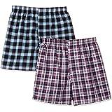 Hanes 恒适 四角内裤 2件装 全球超值线 男士