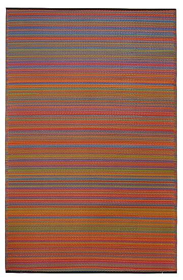 fab habitat cancun rug multicolor