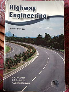 Buy highway engineering book online at low prices in india highway highway engineering 10th edition khanna justo fandeluxe Image collections