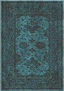 "product image for Orian Rugs Spoleto Ethnicgra Area Rug, 6'7"" x 9'8"", Aqua"