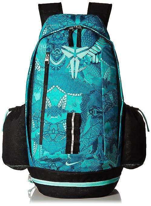 a8b58ec37c Nike Kobe Mamba X Basketball Backpack Light Retro Black Artisan Teal   Amazon.ca  Luggage   Bags
